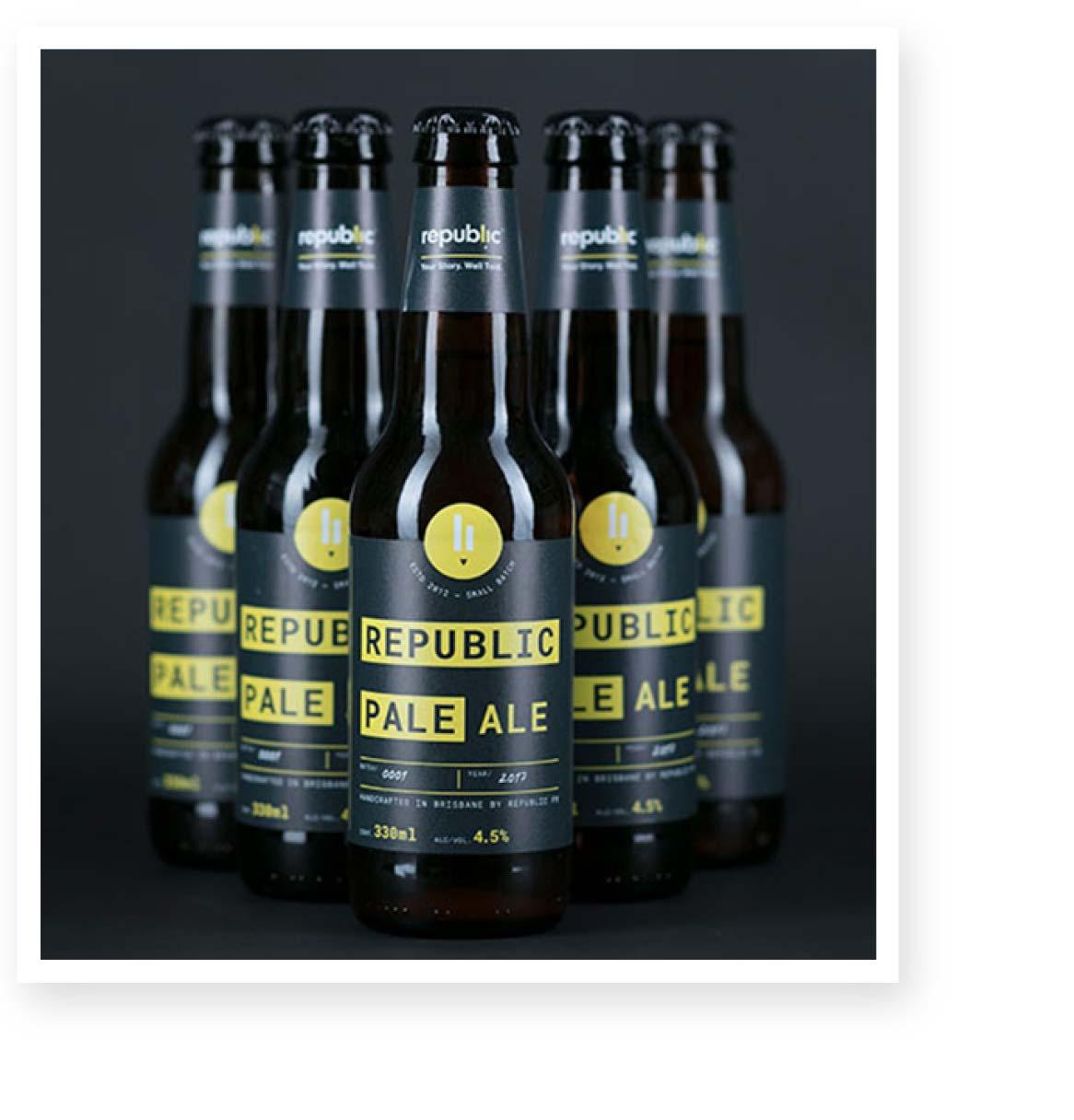 Republic PR Beer Packaging